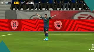 Joguei FIFA mobile UEFA Europa league