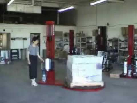 FOX Manual Stretch Wrapper - PTIPackaging
