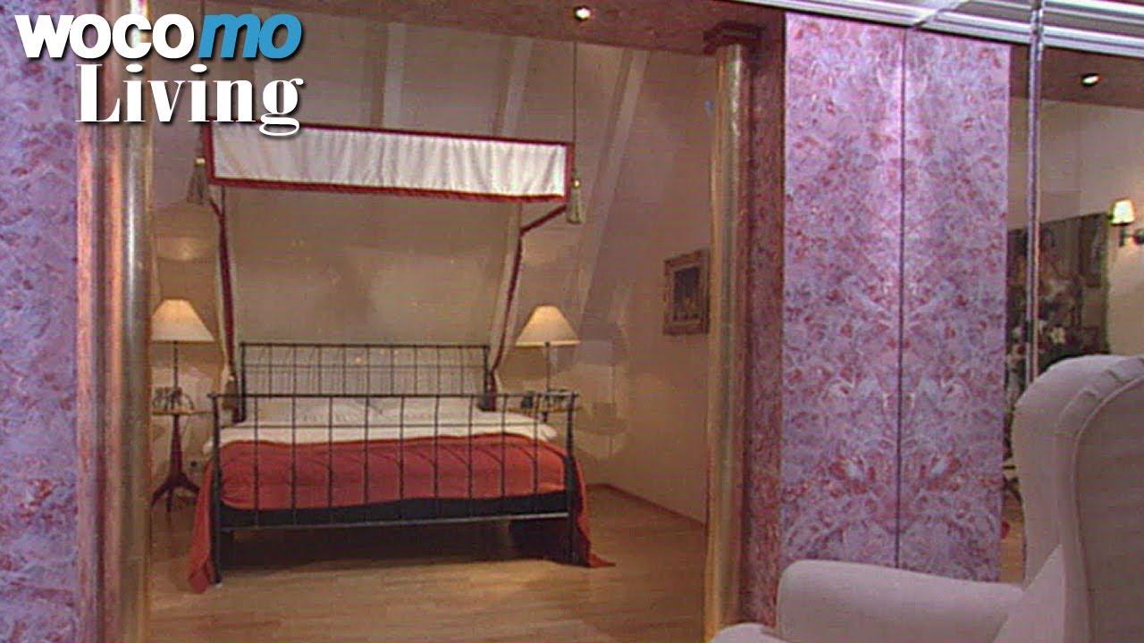 Romantisches schlafzimmer im palast stil tapetenwechsel br staffel 1 folge 3 youtube for Romantisches schlafzimmer