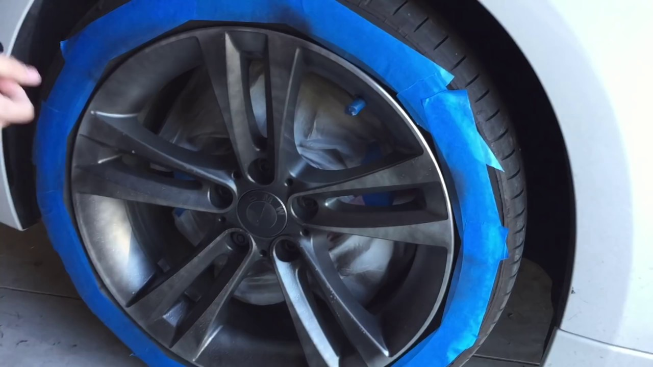 Plasti Dipping Rims 2016 Bmw 328i Youtube