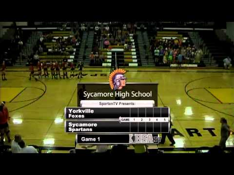 Girls Volleyball - Sycamore vs. Yorkville