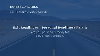Personal Readiness Part 1: