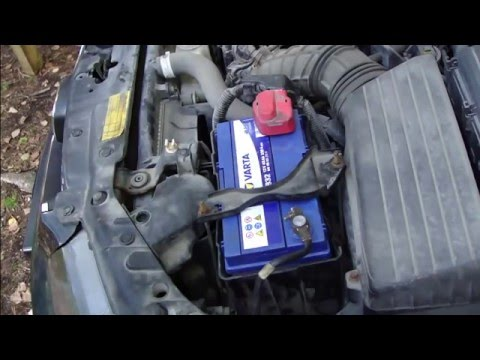 How to change battery Honda Accord. Years 2003 to 2010.