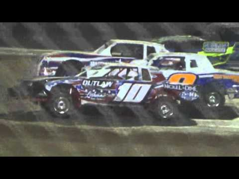 Ark La Tex Speedway ZERO Cancer Night Factory stock A feature 4/2/16