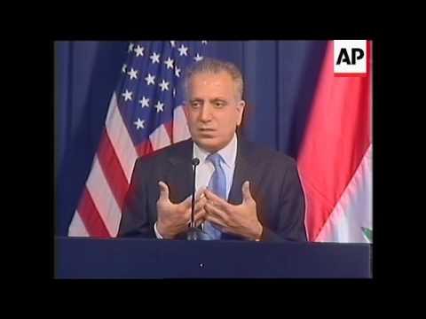 WRAP US ambassador warns Iraq against sectarian national unity gov't, Jaafari comments