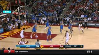 Men's Basketball: USC 84, UCLA 76 - Highlights 1/25/17