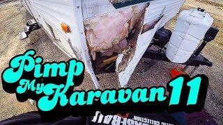 PlMP MY KARAVAN 11 - Oprava karavanu po srážce se srnkou