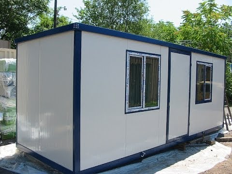 Modular Office Container - YouTube