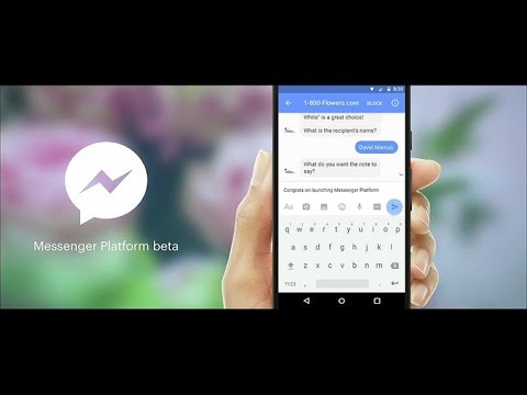 Bots Are Coming To Facebook Messenger (CNET News)