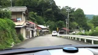 徳島県道16号旧道?と旧坂本トンネル