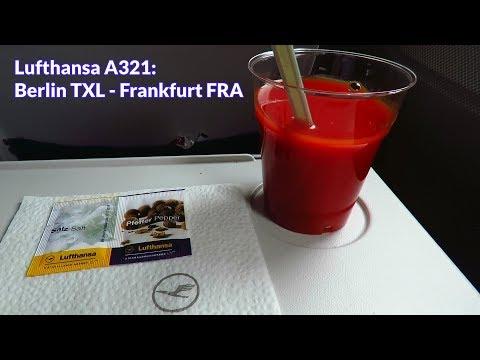 TRIP REPORT | Lufthansa (ECONOMY) | Berlin TXL - Frankfurt FRA | Airbus A321!