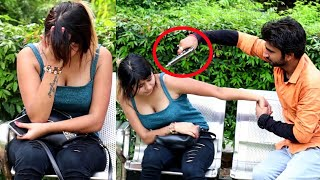 Fake Gun Prank || Prank Gone Emotional || Nandu YT || NSB 🇮🇳