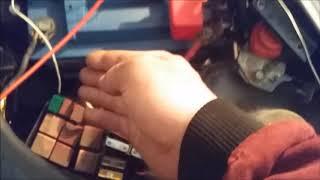 Renault Kangoo 1 5DCI vozidlo přitaženo na laně, nelze nastartovat    další výzva