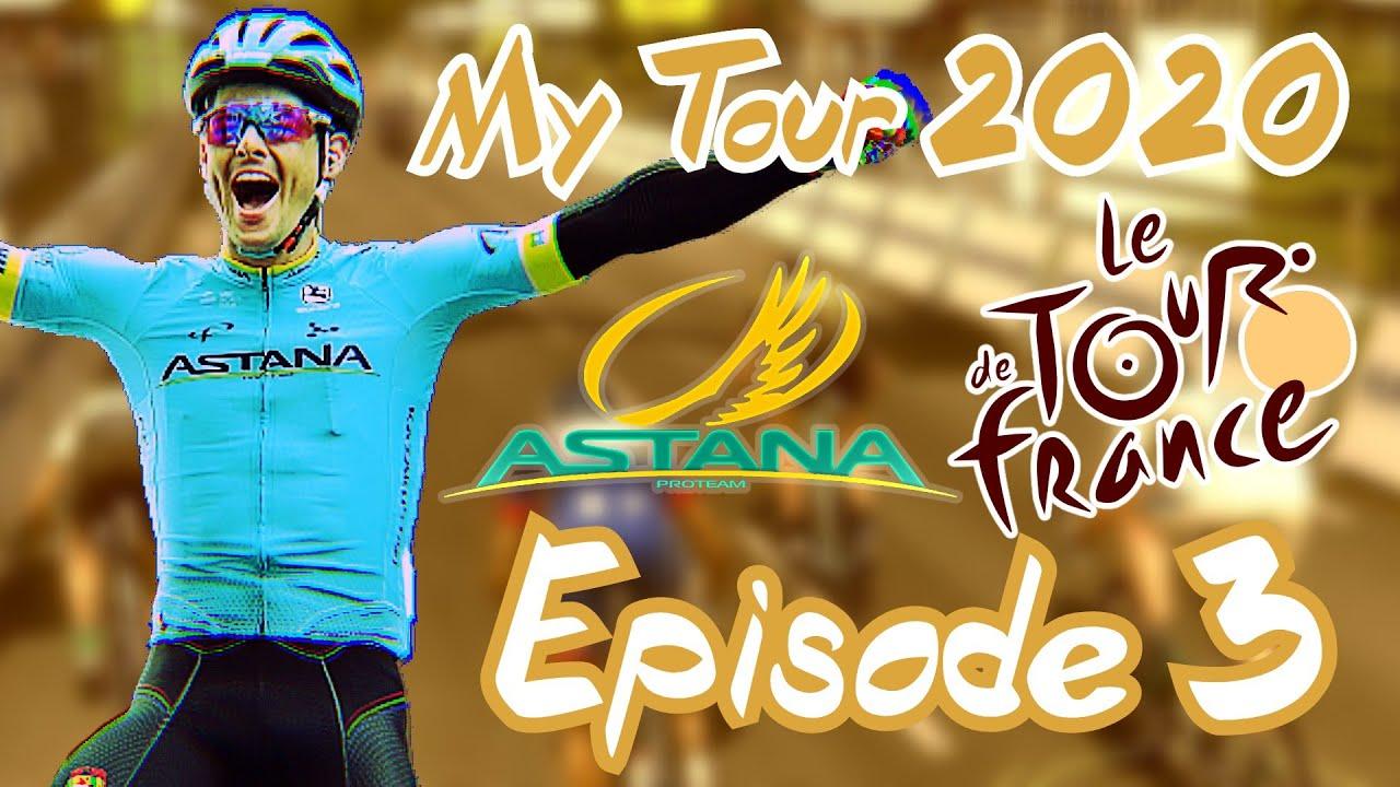 TOUR DE FRANCE 2020 - My Tour - Ep 3 - Le Joueur Français en Souffrance