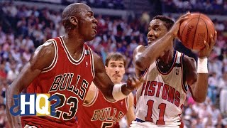 Examining the complexities of the Michael Jordan-Isiah Thomas relationship | Highly Questionable
