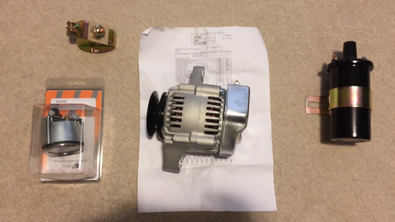 hight resolution of tractor 12 volt conversion step by step part 2