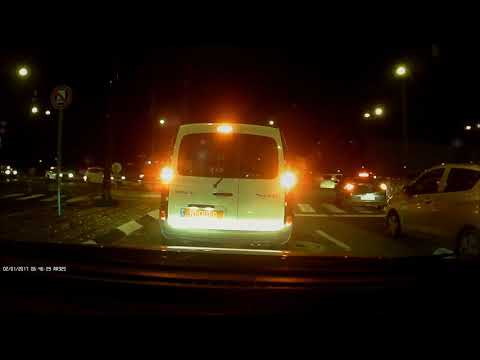 מצלמת רכב - NOVOGO NV27 FULL HD - צילום לילה