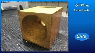 Wooden iPhone Speaker - Episode 12