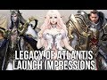 Legacy of Atlantis: Official Launch First Impressions & Gameplay