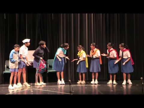 Be Eka Be - Balnatak performed by kids at Maharashtra Mandal Singapore