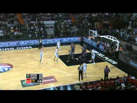 Argentina Vs. Panama / 2011 FIBA Americas Championship Round 1