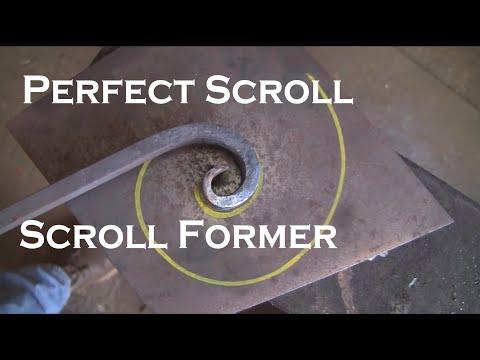 Perfect scroll, scroll former