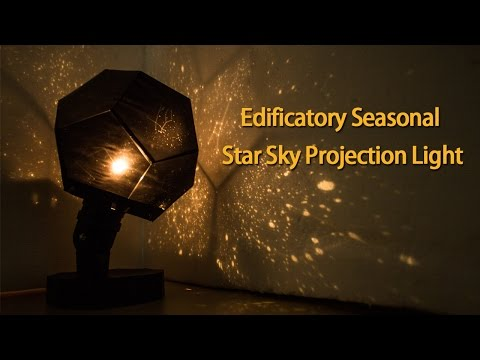 EdificatorySky Projection Light review - Gearbest