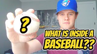 What Does the Inside of a Baseball Look Like? | Auddie James