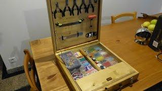 [scrapwood] Wooden Suitcase Toolbox - Valise Boîte à Outils En Bois - Part 2/2