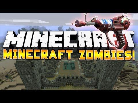 Minecraft Mini-Game: CoD ZOMBIES! #1 - w/Preston & Woofless