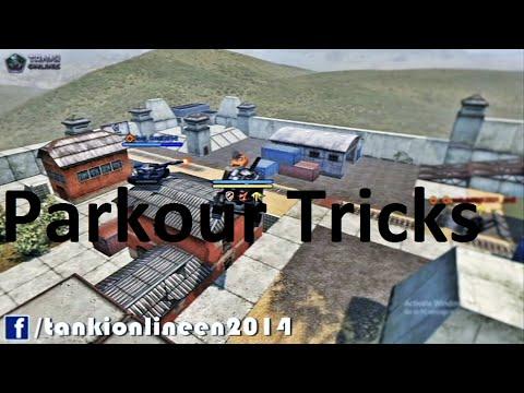 Parkour Tricks - You can do alone - Tanki Online