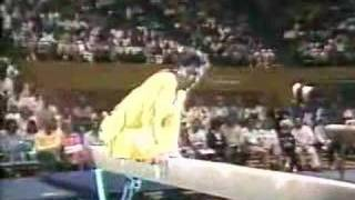 1988 Paul Hunt gymnastics comedy beam routine thumbnail