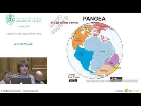 Conférence - A  CAZENAVE  - L'océan au sein du système Terre - Académie des sciences