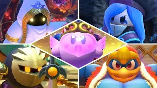 Kirby Star Allies - ALL BOSSES + SECRET FINAL BOSS on SOUL MELTER Difficulty! (The Ultimate Choice)
