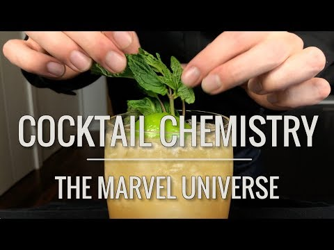 Recreated - Cocktails from the Marvel Universe (feat. Binging With Babish)