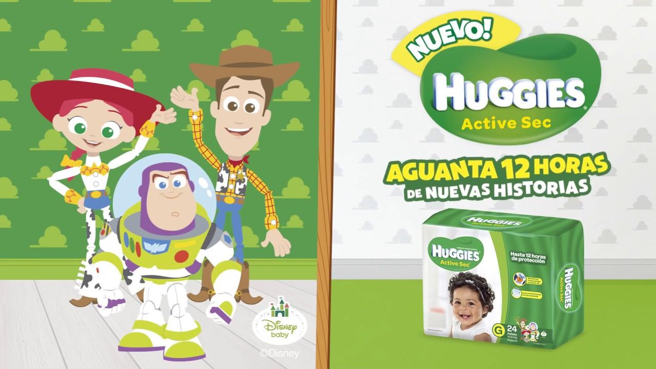 HUGGIES Active Sec con los personajes de Toy Story
