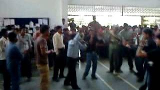 MBA Principal Dr. P.K Jena Dance in BIET.MP4