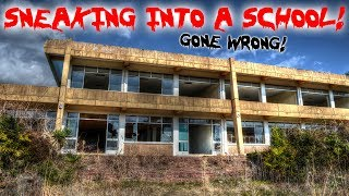 24 HOUR OVERDAY CHALLENGE in AN ABANDONED SCHOOL CLIMBING TO THE ROOF TOP! | MOE SARGI