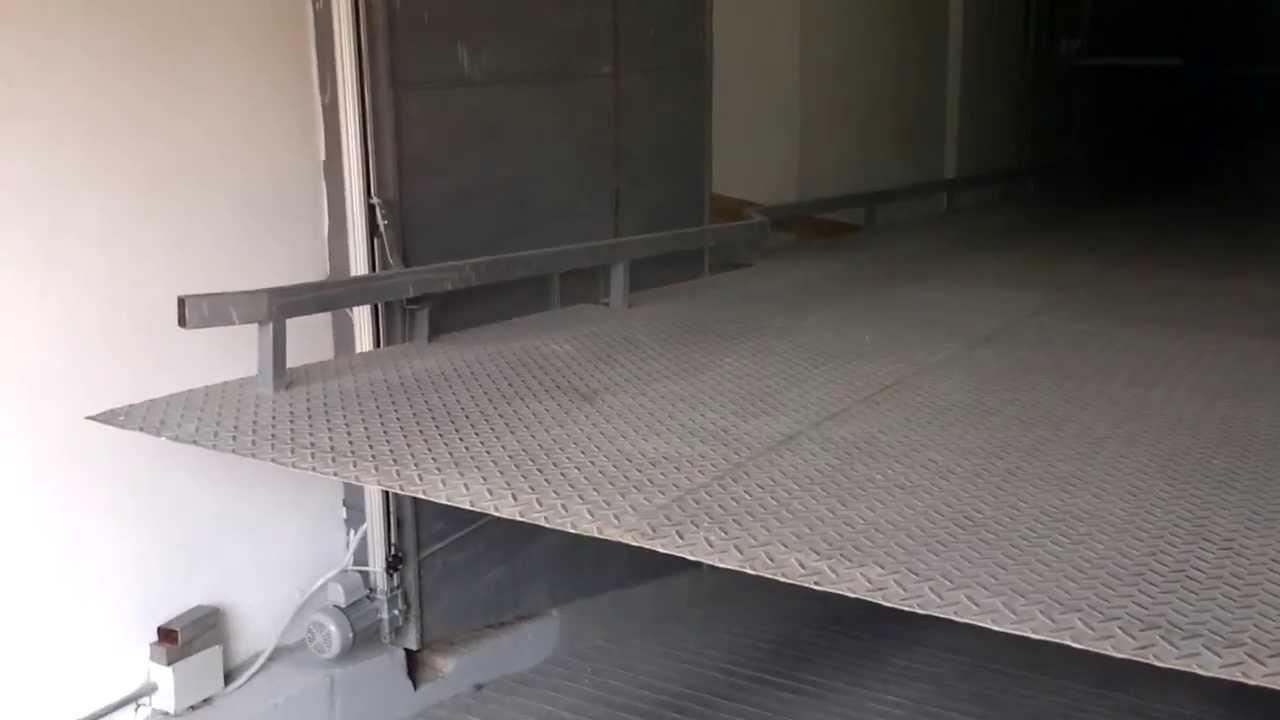 Rampa vehicular automatica contrapesada youtube - Rampas de garaje ...