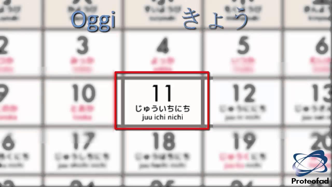 Calendario Giapponese.Nipponicamente N5 Corso Di Lingua E Cultura Giapponese Unita 3 Il Calendario Giapponese