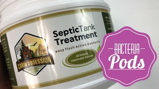 Dissolvable Easy Flush Live Bacteria Packets  Septic Treatment by Cabin Obsession Review