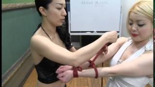 【ツジ×一ノ瀬文香】3分でわかる腕格子縛り 一ノ瀬文香 検索動画 12