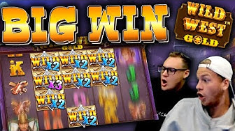 BIG WIN on Wild West Gold (NEW SLOT)