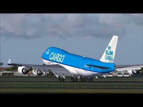 KLM Boeing 747-406ERF Take Off From the Polderbaan @ (AMS) Amsterdam