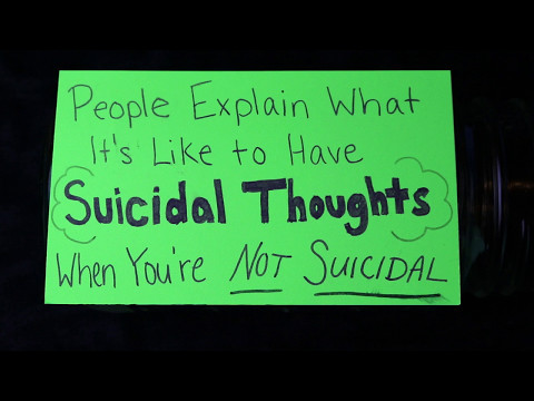 Suicide | What It's Like to Have Passive Suicidal Thoughts