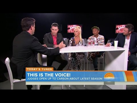 Today Show Interview - Carson Daly with The Coaches