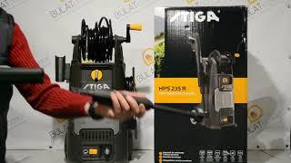 Мойка высокого давления STIGA HPS235R, распаковка и видео минимойки