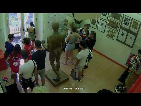 Security Camera Footage Shows Moment Van Drove Down Las Ramblas in Barcelona