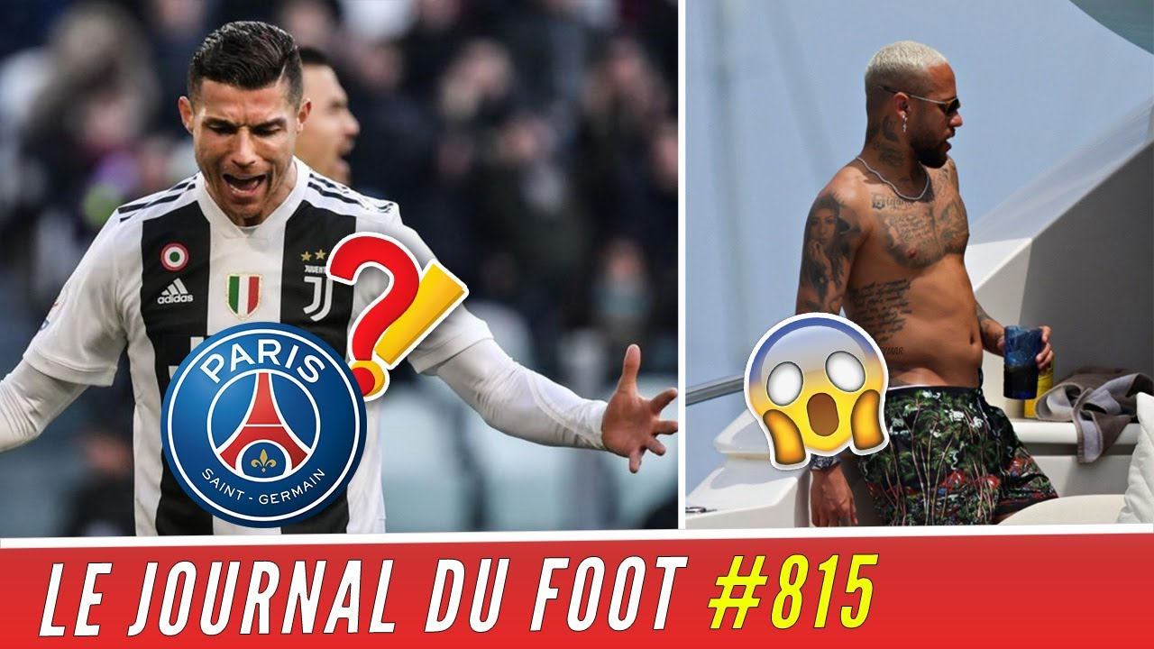Download RONALDO attend désespérément le PSG, les photos de NEYMAR qui agacent les supporters parisiens