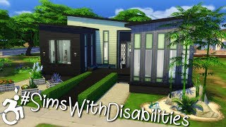 #SimsWithDisabilities ♿ | Sims 4 Speed Build [CC]